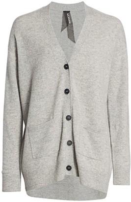 Naadam Cashmere Button Boyfriend Cardigan