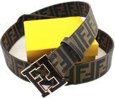Fendi Mens Belt. Size 120(36-40). with Black F Buckle