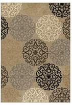 "Orian Adobe Abstract Woven Area Rug - (5'3""X7'6"")"