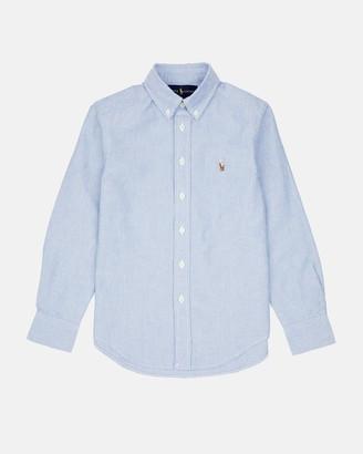 Polo Ralph Lauren Cotton Oxford Sport Shirt - Teen