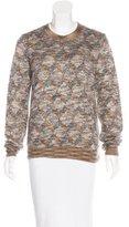 Chanel 2016 Paris-Rome Silk & Mohair-Blend Sweater w/ Tags