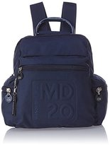 Mandarina Duck Women's MD20 TRACOLLA Backpack Blue Blau (Blue)