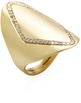 Ila Women's Phineas 14K Yellow Gold & 0.35 Total Ct. Diamond Ring