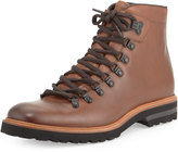 Kenneth Cole Click-Ery Leather Lace-Up Boot, Brown