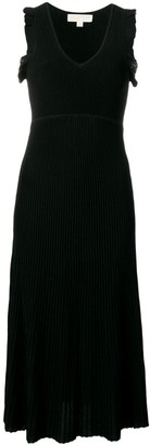 MICHAEL Michael Kors sleeveless flared pleated dress
