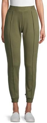 Terez Pintuck Cotton Jogger Pants