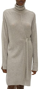 Helmut Lang Turtleneck Sweater Dress