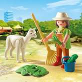 Playmobil 4944 Easter Zookeeper With Alpaca Gift Egg