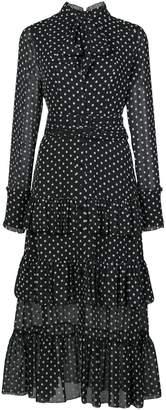 Alexis Pandora polka dot print dress
