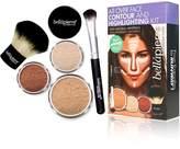 Bellapierre all over face highlight & contour kit medium, 1 Count