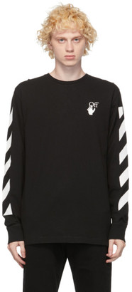 Off-White Black Agreement Long Sleeve T-Shirt