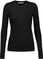 Jason Wu Paneled ponte sweater