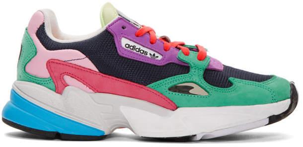 new high best wholesaler reasonable price Multicolor Falcon 90s Low Top Sneaker