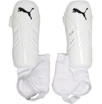 Puma Pro Training 2 Shin Guards With Ankle Socks White/Black