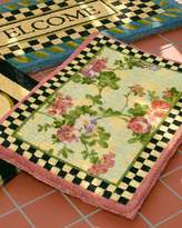 Mackenzie Childs MacKenzie-Childs Morning Glory Entrance Mat