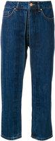 Aalto fixed pleats cropped jeans