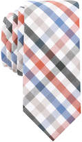 Bar III Men's Quatro Gingham Skinny Tie, Created for Macy's