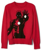 Gap Mad Engine© Iron Man© intarsia sweater