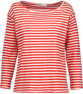 Kain Label Amelia Striped Stretch-Modal Top
