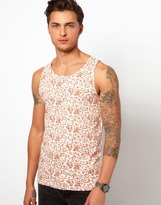 Revolution Tank With Floral Print
