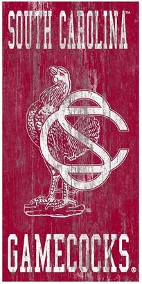 South Carolina Gamecocks Heritage Logo Wall Sign
