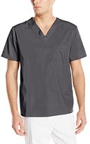 Cherokee Men's Ww Flex with Certainty Unisex V-Neck Top