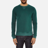 BOSS ORANGE Men's Wheelo Sweat Green