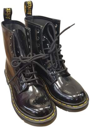Dr. Martens \N Black Patent leather Ankle boots