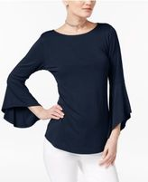 INC International Concepts Bell-Sleeve Top, Only at Macy's
