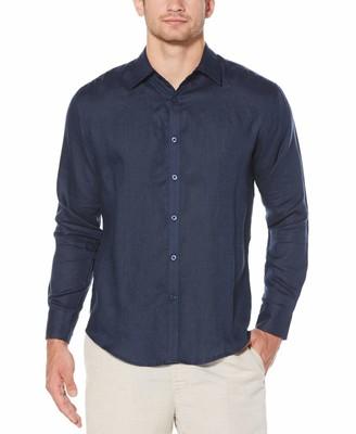 Cubavera 100% Linen Tuck Shirt
