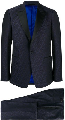 Paul Smith Geometric Pattern Two Piece Suit