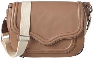 Rebecca Minkoff Maia Large Leather Saddle Bag