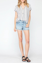 Gentle Fawn Stripe Rowan Top