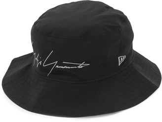 Yohji Yamamoto Logo Print Bucket Hat
