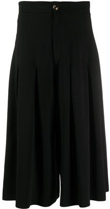 Gucci High-Waisted Pleated Culottes