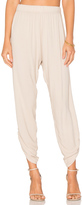 Michael Lauren Pablo Shirred Jogger