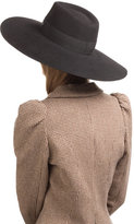 Maison Michel Felted Wide Brim Hat