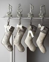 "Noël French Laundry Home ""Joyeux Christmas Stockings"