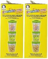 Gerber NUK Graduates Toddler Snacker with Ice Pack, 6-Count , 2 Pack by Graduates