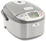 Zojirushi NP-GBC05XJ Induction Heating 3 Cup Rice Cooker Warmer (Stainless Steel) - Home