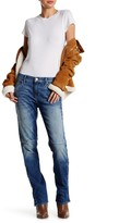 Genetic Los Angeles Ryder Button Lace-Up Straight Jean