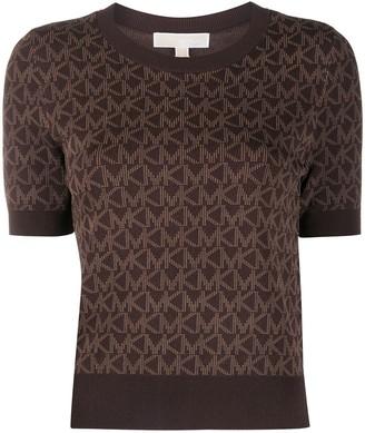 MICHAEL Michael Kors logo print short-sleeved T-shirt