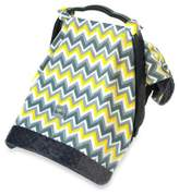 Itzy Ritzy® Cozy HappensTM Infant Car Seat Canopy and Tummy Time Mat in Sunrise Chevron