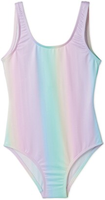 Stella Cove Pastel Rainbow One-Piece Swimsuit