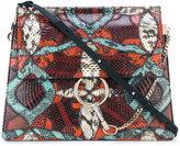 Chloé Faye shoulder bag - women - Calf Leather/Lamb Skin/Watersnake Skin - One Size