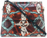 Chloé Faye shoulder bag - women - Watersnake Skin/Calf Leather/Lamb Skin - One Size
