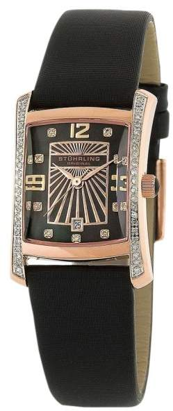 Stuhrling Original Daisy 145D.124527 Stainless Steel & Leather 22mm x 26mm Watch