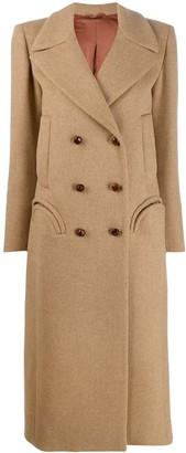 BLAZÉ MILANO double breasted midi coat