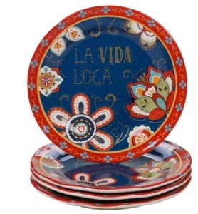 Certified International La Vida 4-Pc. Dinner Plate