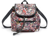 Le Sport Sac Bambi Floral Small Edie Backpack